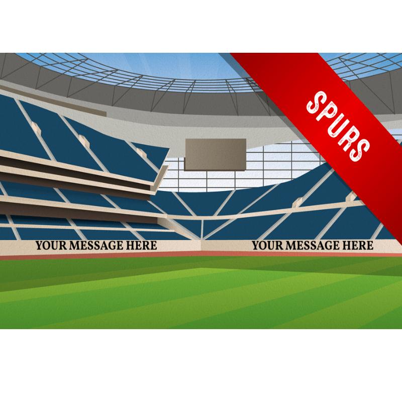 Personalised Football Stadium Jumbo Marshmallow