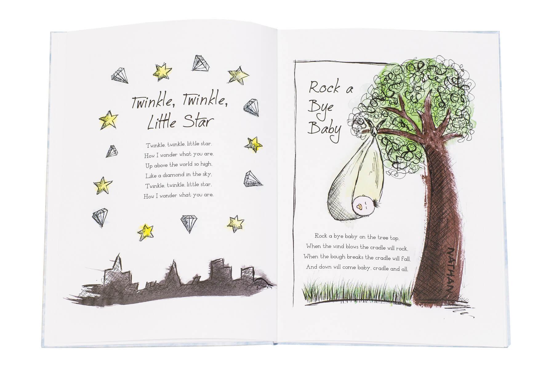 Personalised My Book of Nursery Rhymes