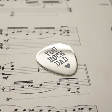 'You Rock Dad' Plectrum