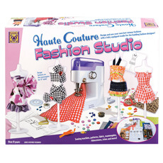 Image of Haute Couture Fashion Studio with Sewing Machine