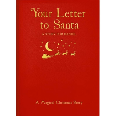 Personalised Letter to Santa Book - Hardback