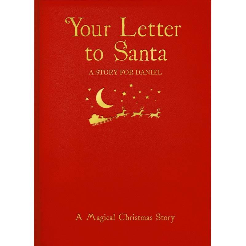 Personalised letter to santa book hardback buy from prezzybox personalised letter to santa book hardback spiritdancerdesigns Choice Image