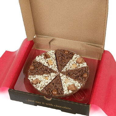 Double Delight Chocolate Pizza 7""