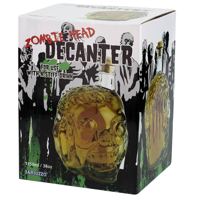 Zombie Head Decanter
