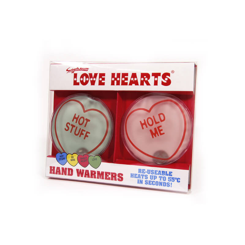 Love Hearts Hand Warmers