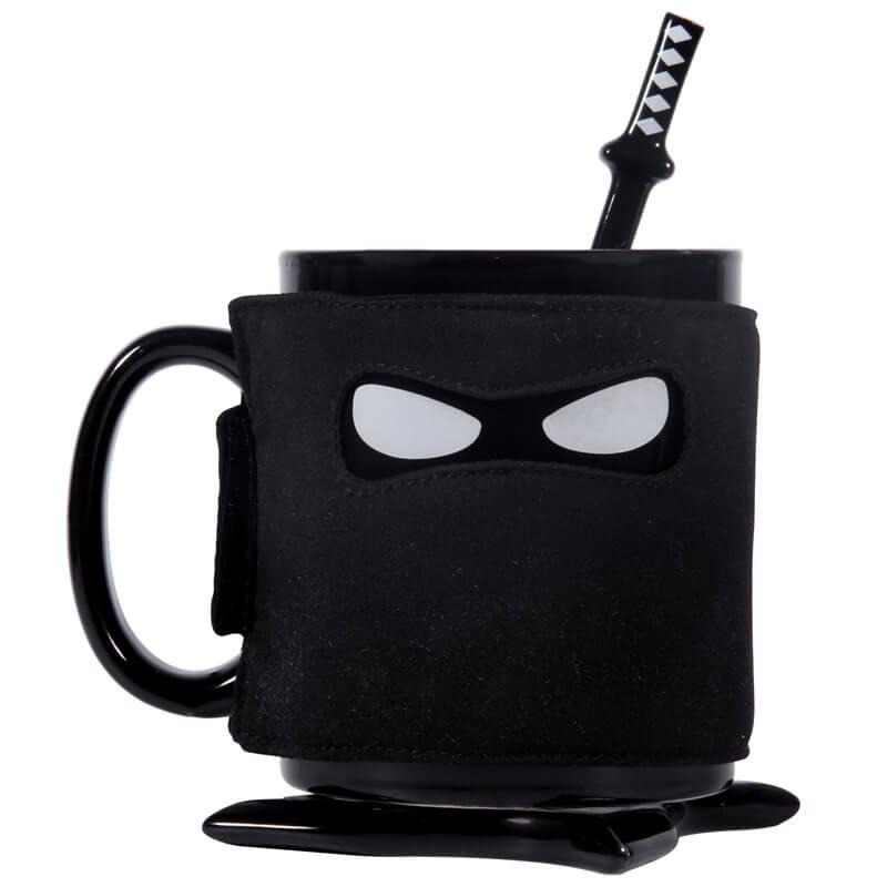 Ninja Mug and Coaster