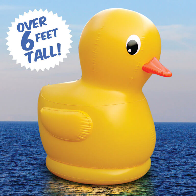 Giant Inflatable Rubber Ducky - Buy from Prezzybox.com