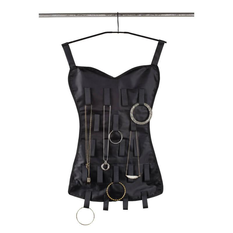 Little Black Corset - Jewellery Organiser
