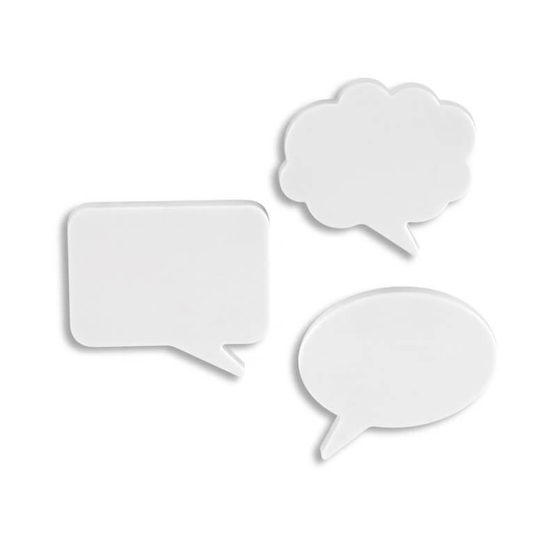 Bubble - Message Fridge Magnets