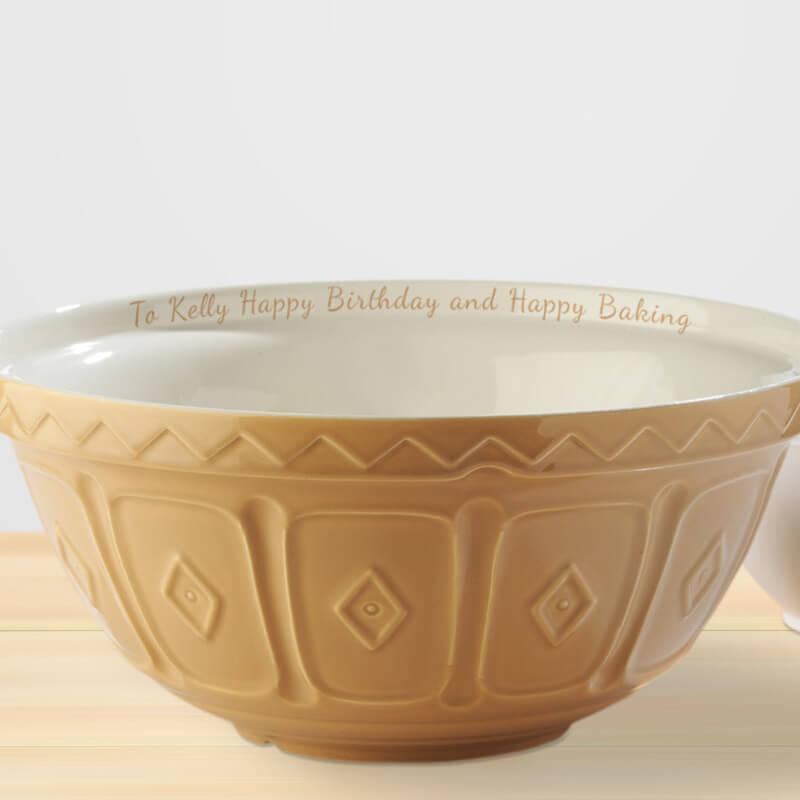 Personalised Mixing Bowl