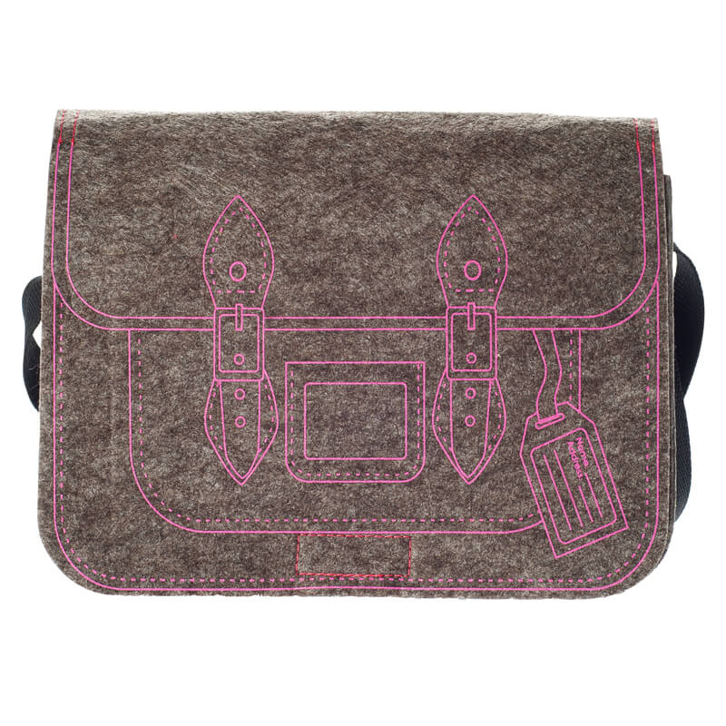 Felt Shoulder Bag