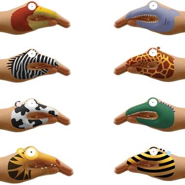 Temporary Animal Hand Tattoos