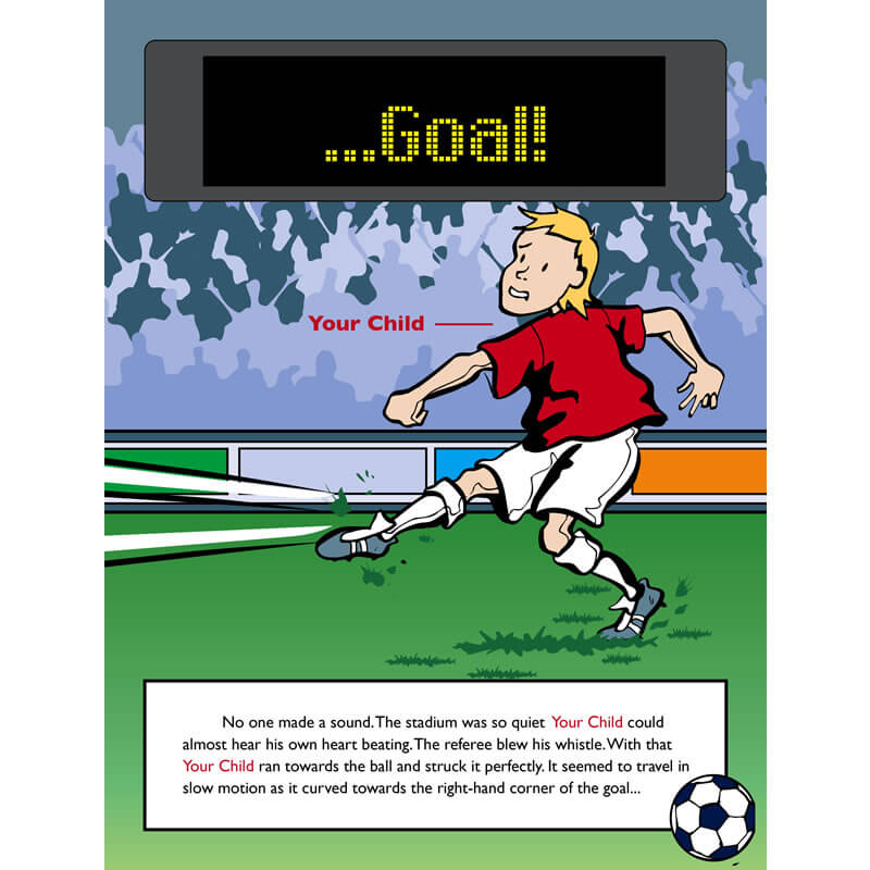 Personalised Children's Football Book
