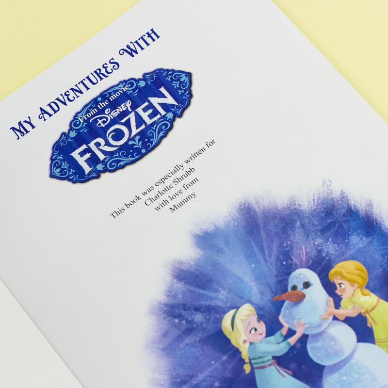 Personalised Disney Frozen Adventure Book