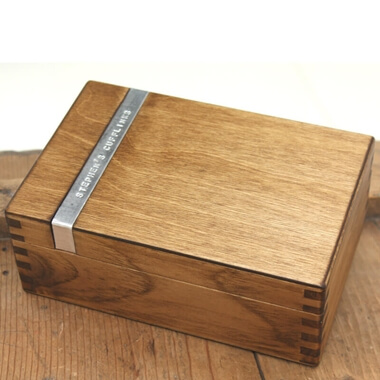 Personalised Cufflinks Box
