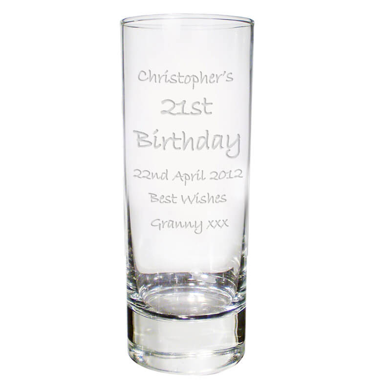Personalised Shot Glass Engraved