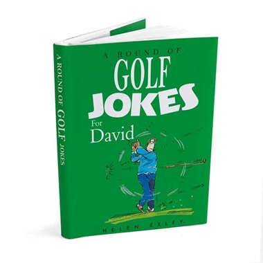 Personalised Golf Joke Book