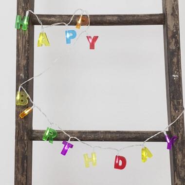 Happy Birthday String Lights