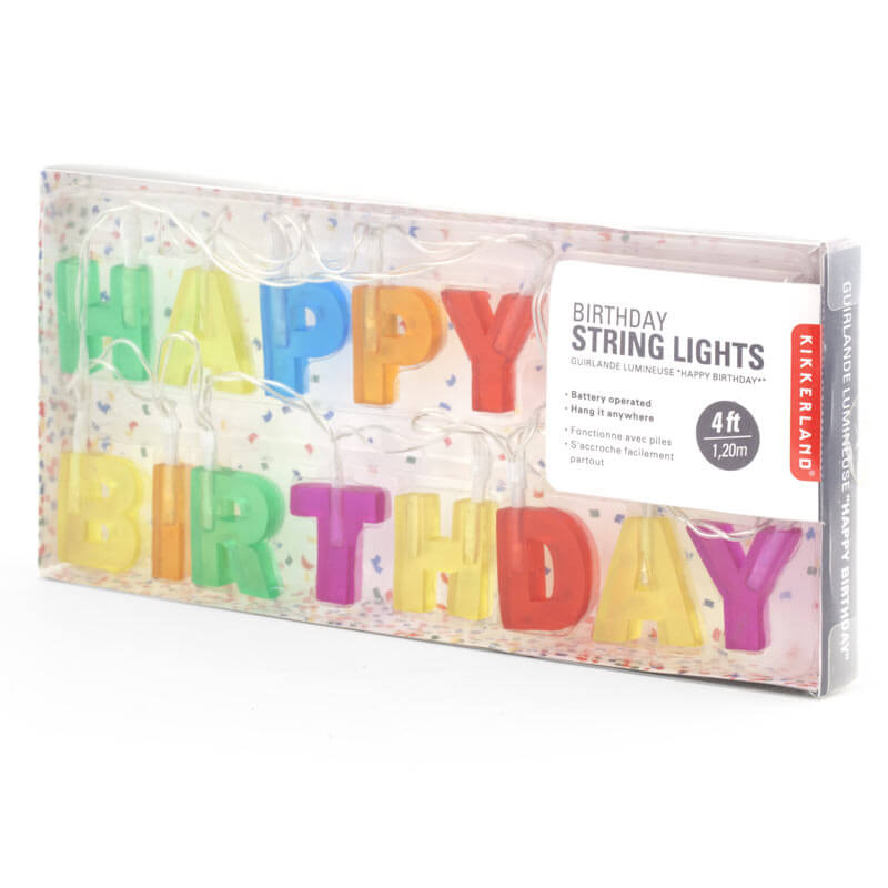 Happy Birthday Lights