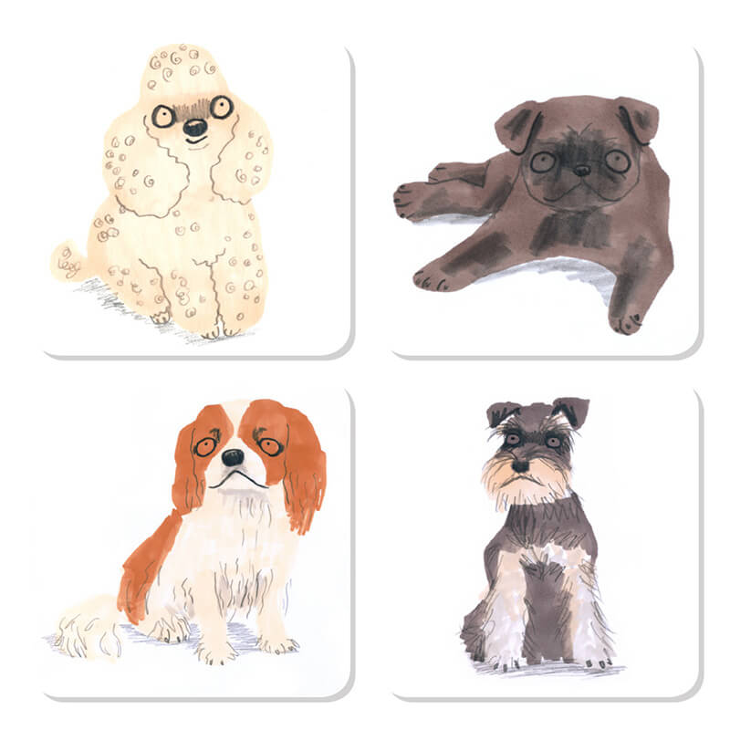Sit! Dog Coasters