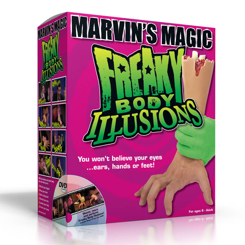 Marvin's Magic - Freaky Body Illusions