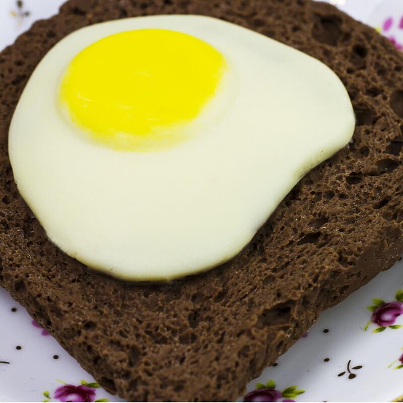 Chocolate Egg on Toast