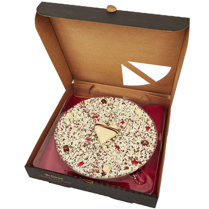 Lovers Chocolate Pizza - 10""