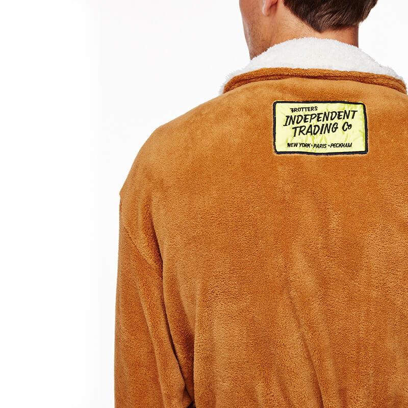 Only Fools and Horses - Del Boy Sheepskin Dressing Gown
