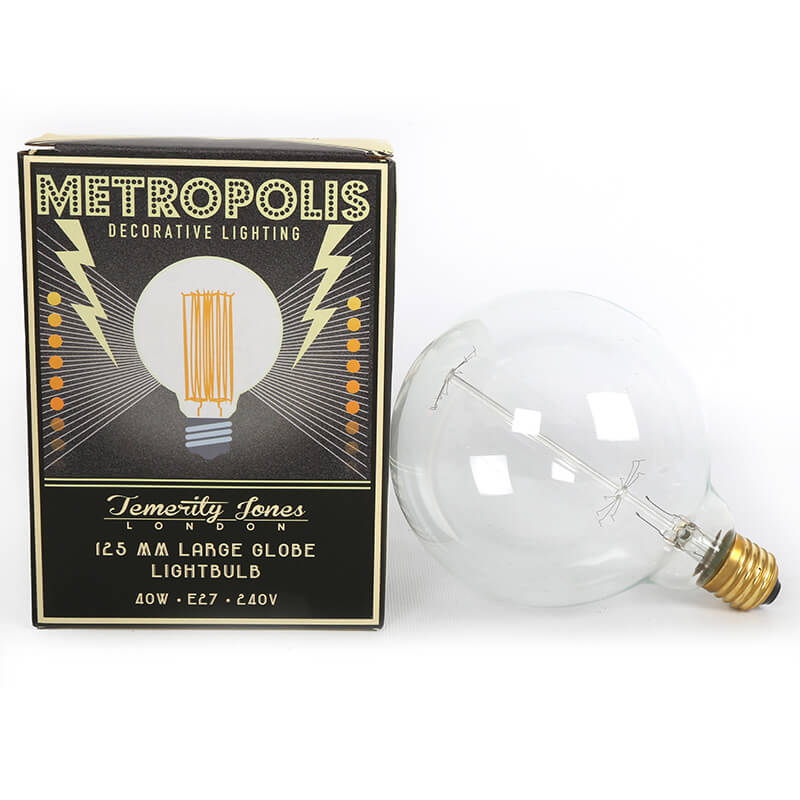 Metropolis Decorative Globe Light Bulb - 40W
