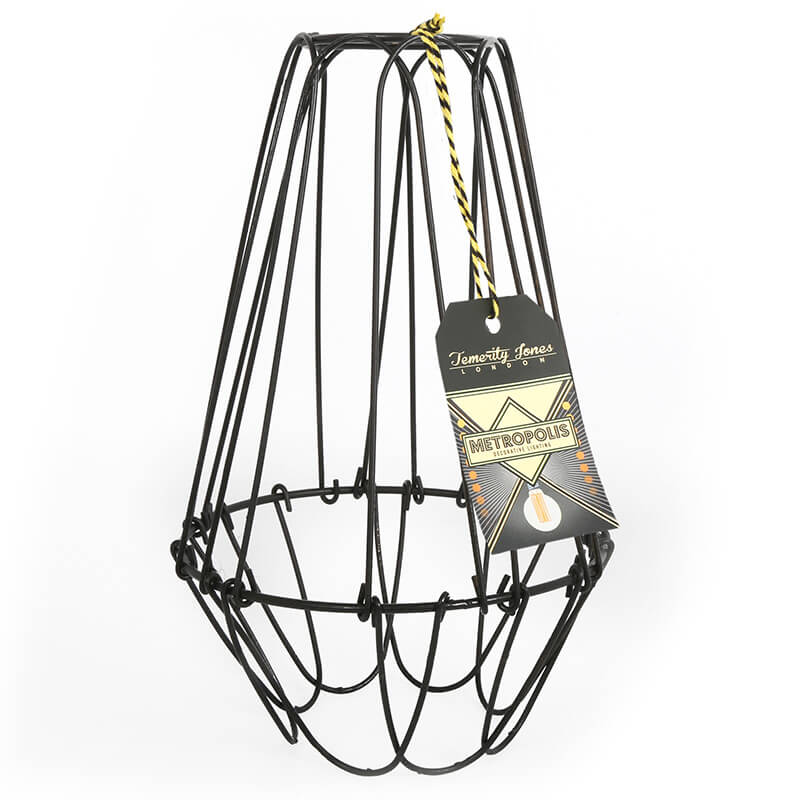 Metropolis wire cage lamp shade large buy from prezzybox metropolis wire lamp shade large keyboard keysfo Gallery
