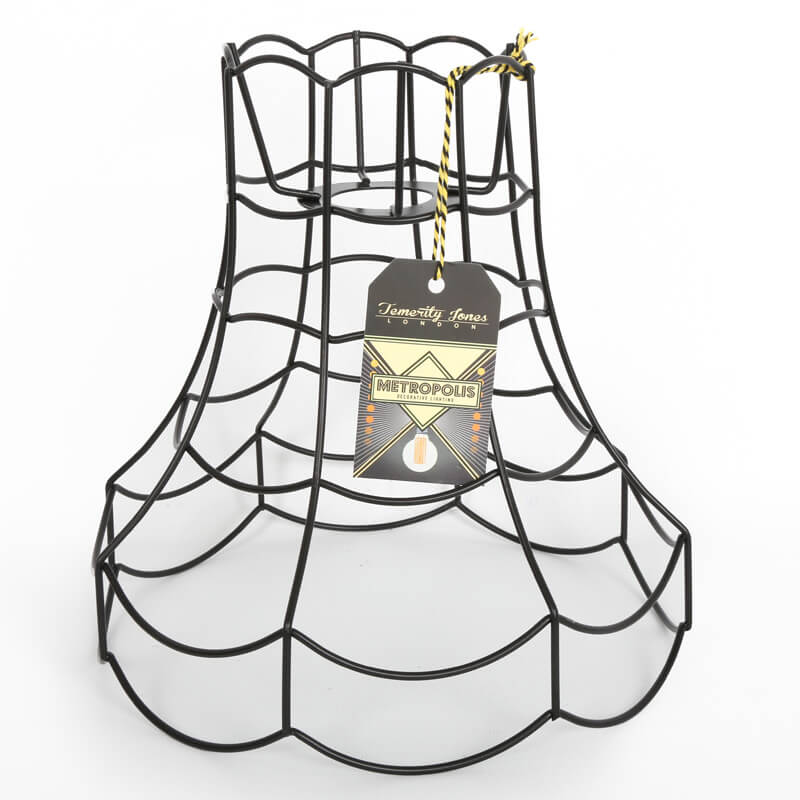 Metropolis Wire Scallop Lamp Shade - Large