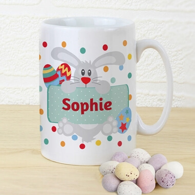 Personalised Easter Bunny Mug
