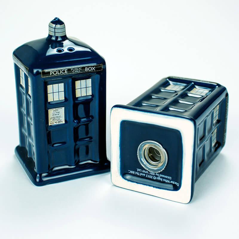 Dr Who Tardis Salt & Pepper Shakers