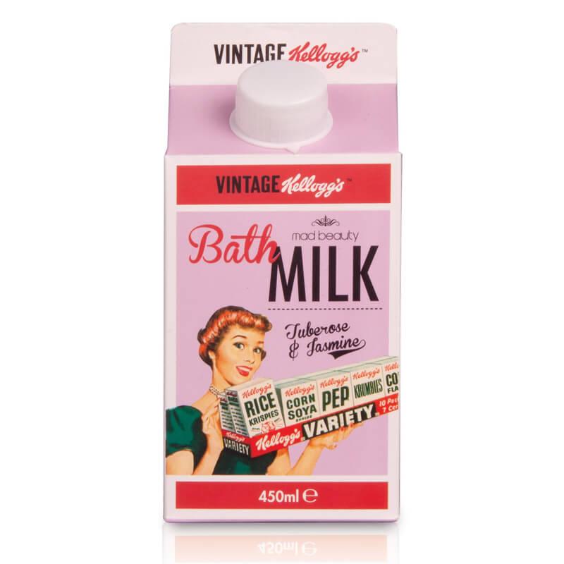 Kellogg's 50's Vintage Bath Milk - Tuberose And Jasmine