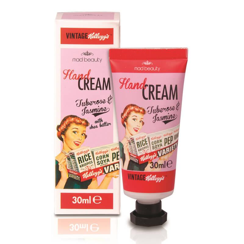 Kellogg's 50's Vintage Hand Cream - Tuberose And Jasmine