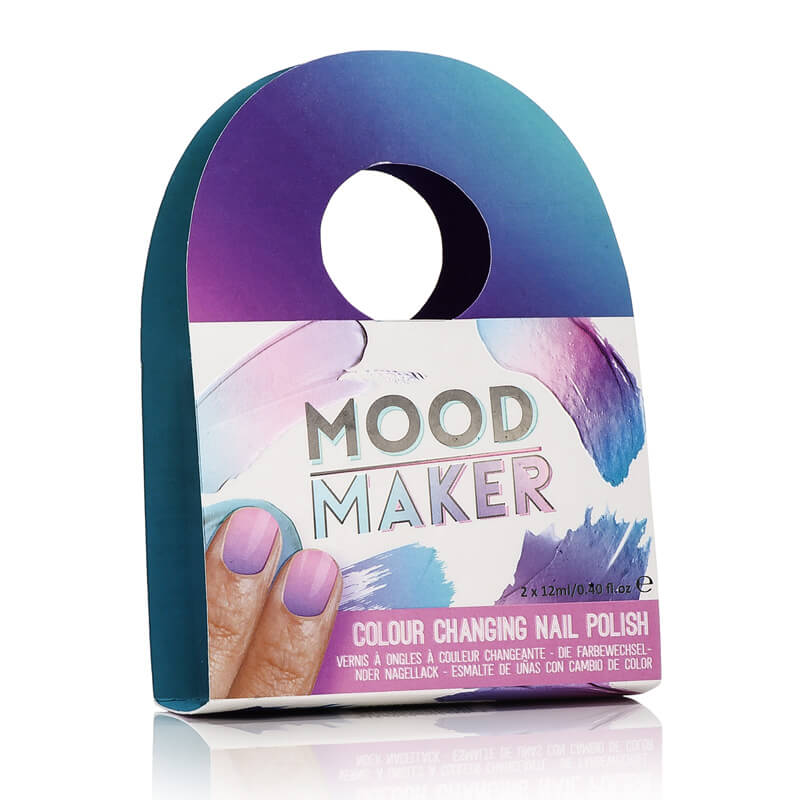 Mood Maker Colour Changing Nail Polish Purple Buy From