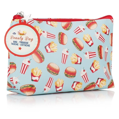 Fast Food Cosmetic Bag