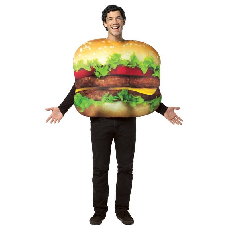 Get Real Cheeseburger Costume