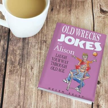 Personalised Old Wrecks Joke Book