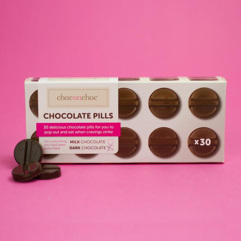 Chocolate Pills - Dark Chocolate