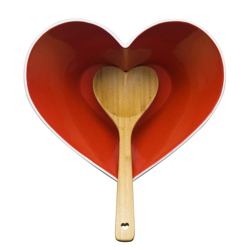 Heart Bowl & Ladle