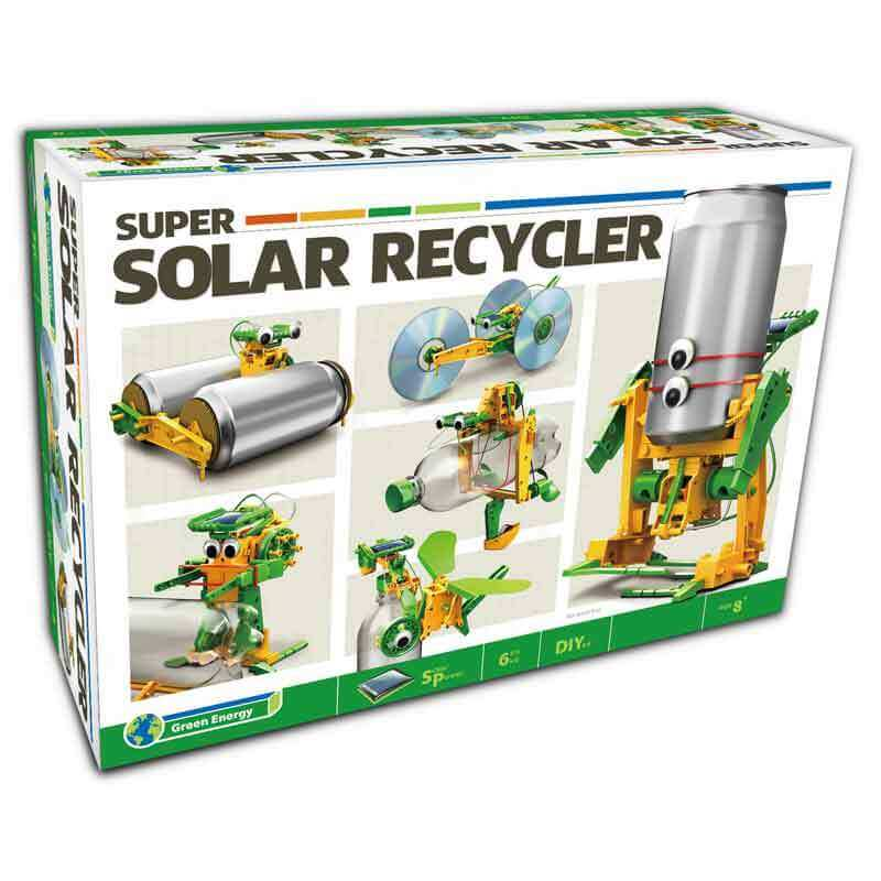 6 In 1 Super Solar Recycler Science Kit