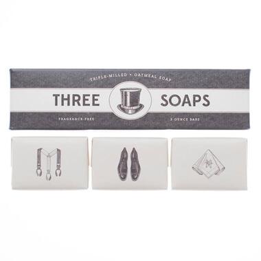 Gentleman's Trio Of Soaps