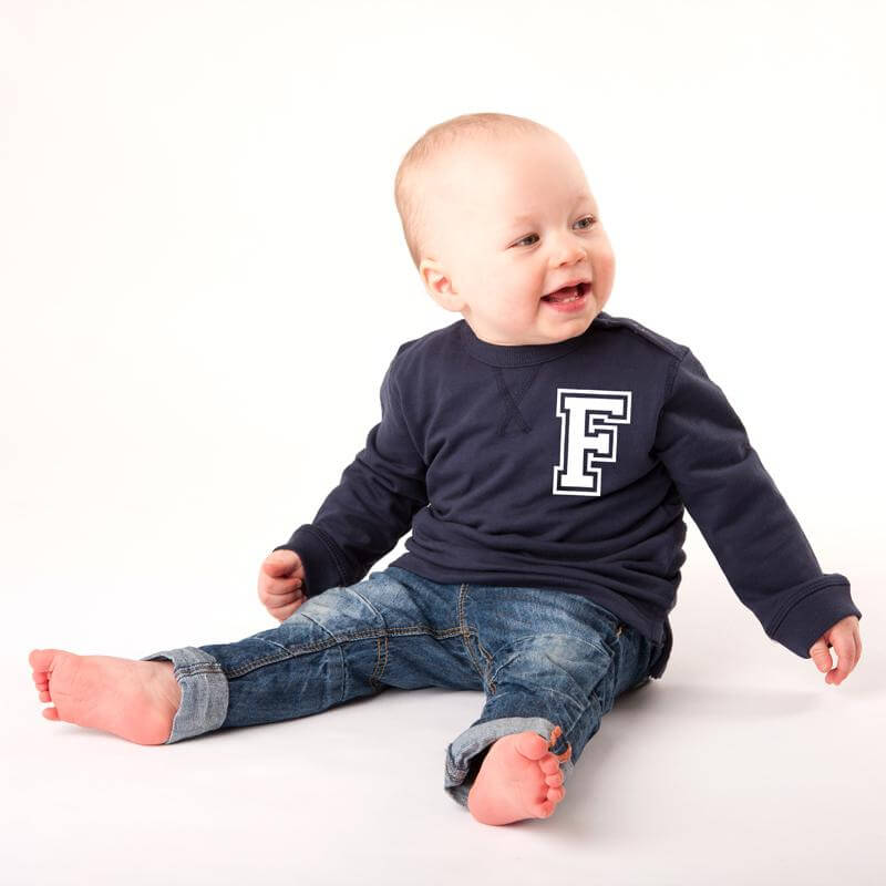 Personalised Baby Sweatshirt