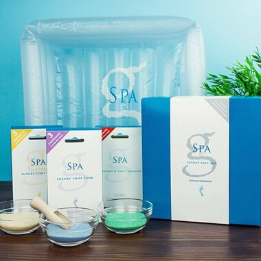G Spa Foot Spa Gift Set