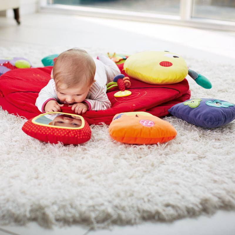 Mamas & Papas Lotty Light & Sound - Tummy Time Playmat & Gym