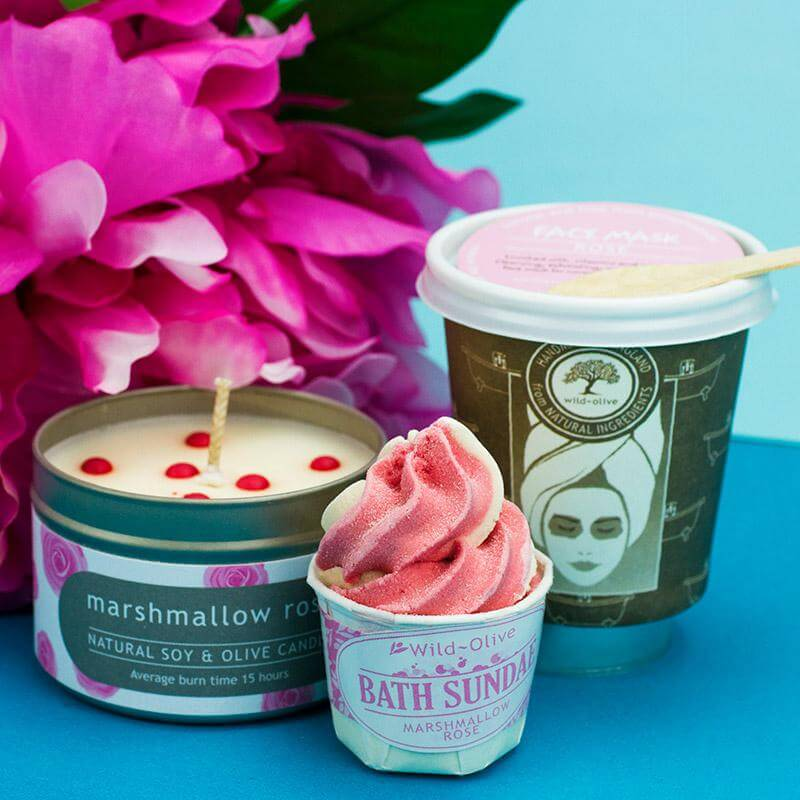 Marshmallow & Rose Pamper Pack