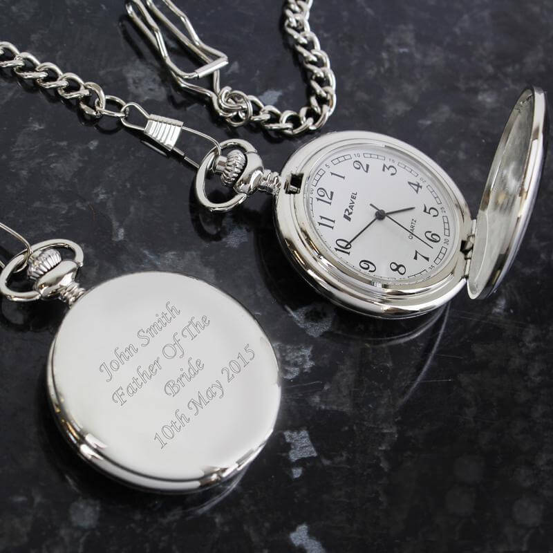 43cda5e12 Personalised Pocket Watch - Buy from Prezzybox.com