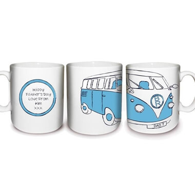 Personalised Camper Van Mug