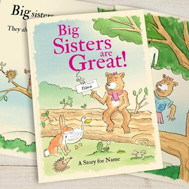 Personalised Big Sisters Are Great Book